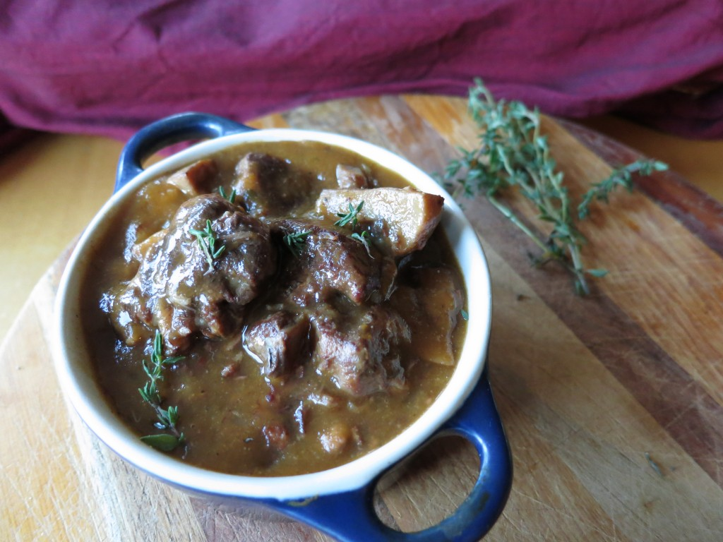 Slow Cooked Beef Bourguignon