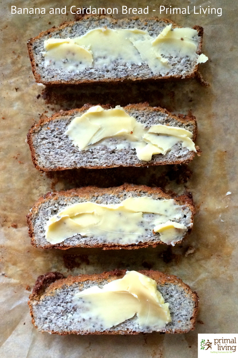 Banana and cardamon Bread - Primal (1)