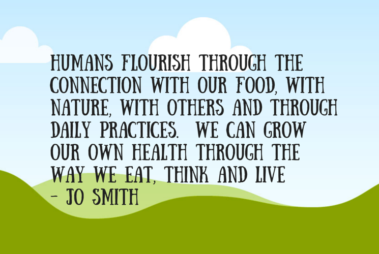 Humans flourish through the connection (1)